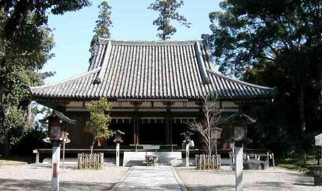 大御輪寺旧本堂~現大直禰子神社