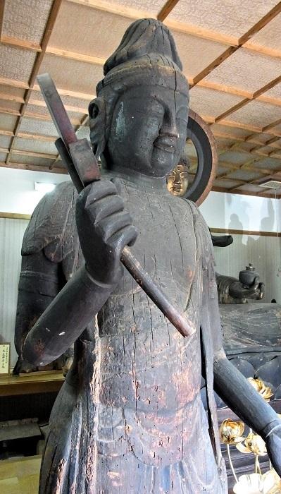 善根寺・日光菩薩像