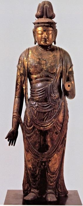 西堤寺・観音菩薩像(10世紀頃)