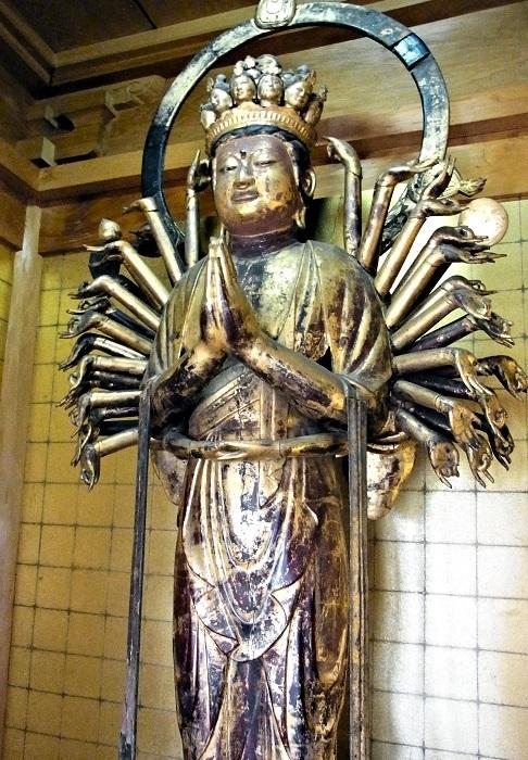 福通寺・千手観音像(平安末鎌倉)