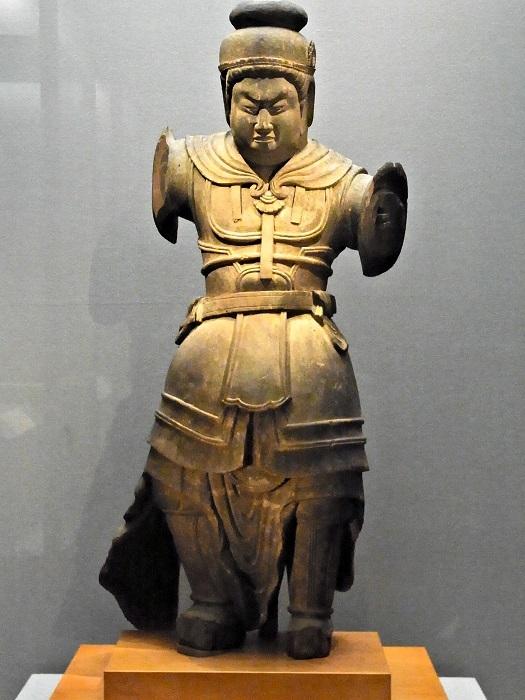 東京国立博物館蔵・天王像
