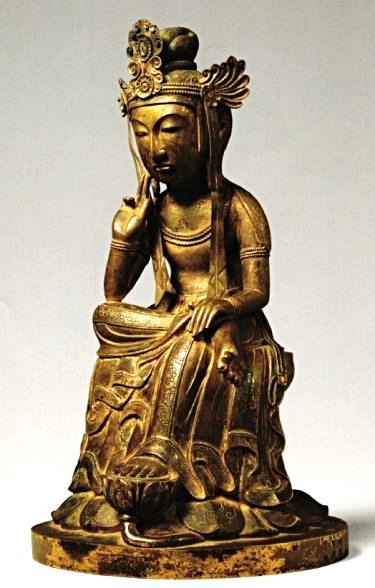 野中寺・半跏弥勒像