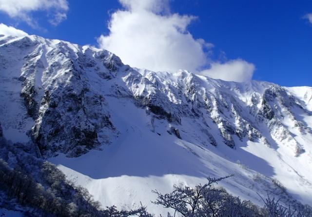 2大山主稜線
