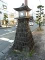 JR伊集院駅 石灯籠 アップ