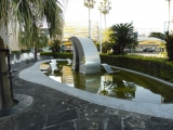 JR宮崎駅 波の噴水モニュメント