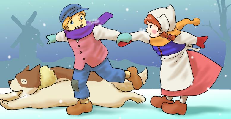 よあけのみち冬改