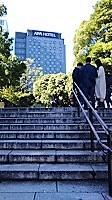 上野公園の石段