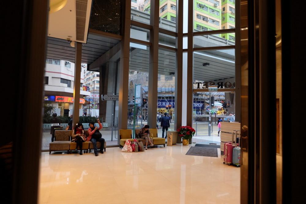 Dorsett Mongkok エントランス