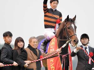 キタサンブラックが2016年年度代表馬に