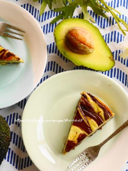 アボカドチーズケーキ