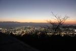 眉山(まだ夜景)1