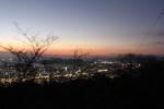 眉山(まだ夜景)2