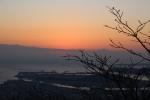 眉山(初日の出直前)1
