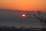 眉山(初日の出)