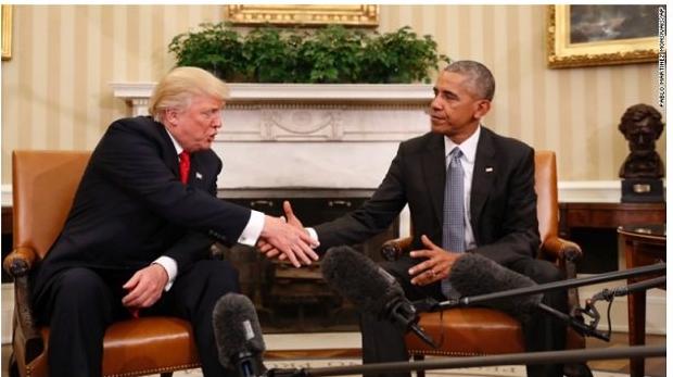 オバマとトランプ