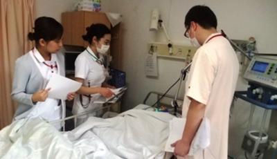 臨終の病室