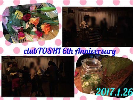 2017_1_26_clubTOSHI 6th Anniv
