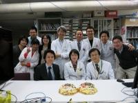 アクセプトお祝い坂田先生