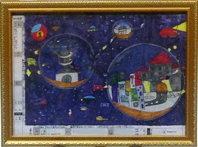 2016こども絵画コンクール フランスル-ブル美術館展示決定 小島 猛 君