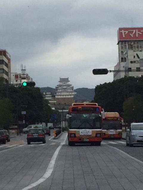 s-0駅から見た姫路城