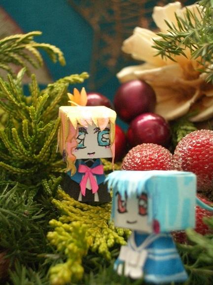 手作りクリスマスリース2