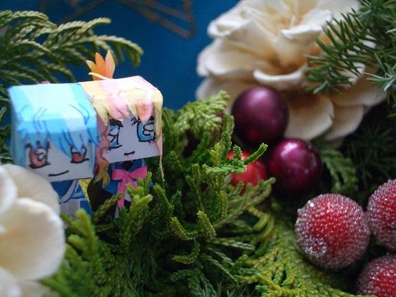 手作りクリスマスリース5