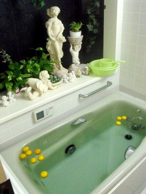 20161222 冬至の風呂 007-2