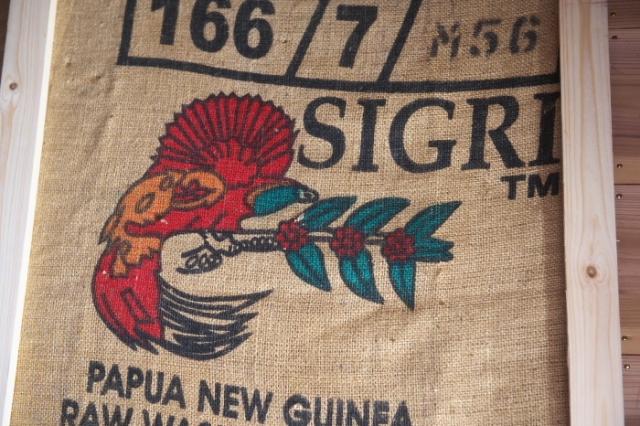 パプアニューギニア・シグリAA-麻袋