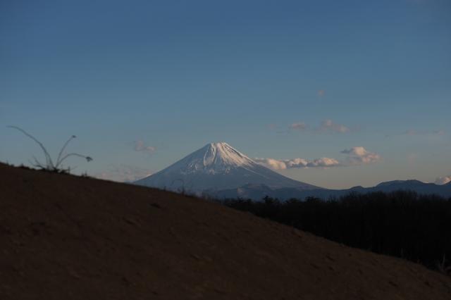 素敵な表情を見せる富士山-01