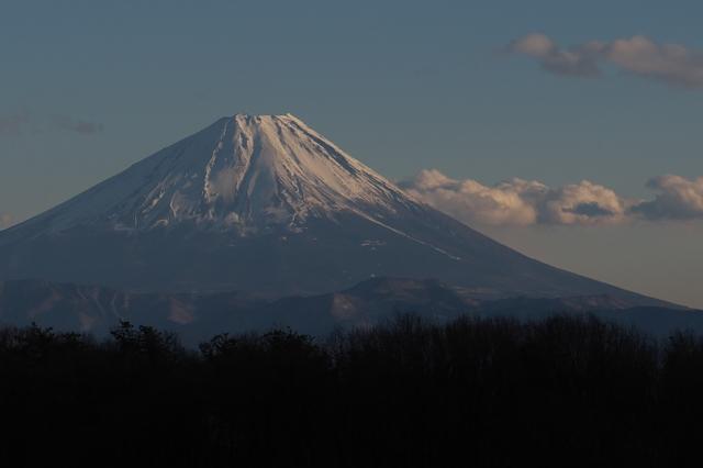 素敵な表情を見せる富士山-02