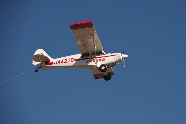 日本航空学園・練習機のセスナ-02
