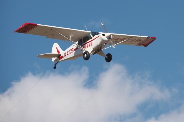 日本航空学園・練習機のセスナ-01