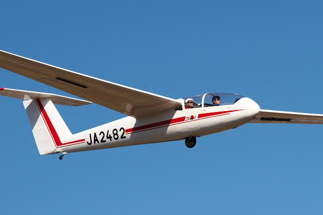 日本航空学園・練習機のグライダー -02