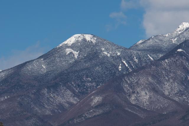 八ヶ岳・編笠山のPuma