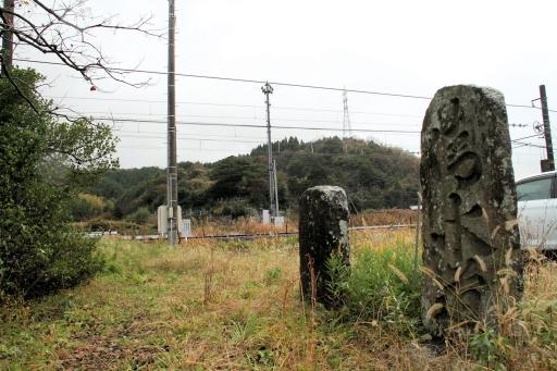門生にある「清水道」の石碑