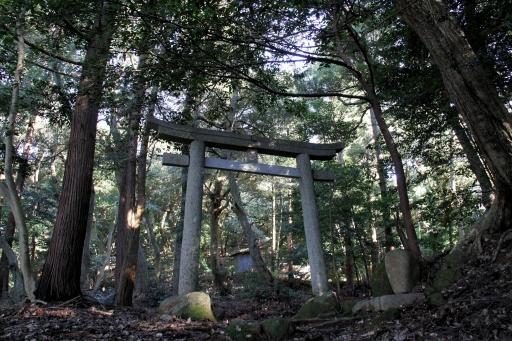 嵩神社の鳥居
