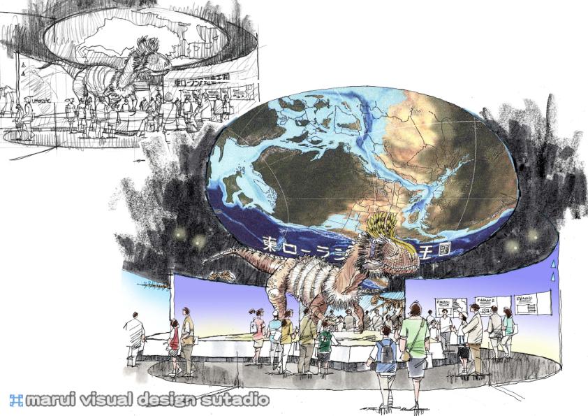 2012恐竜博・イメージパース3