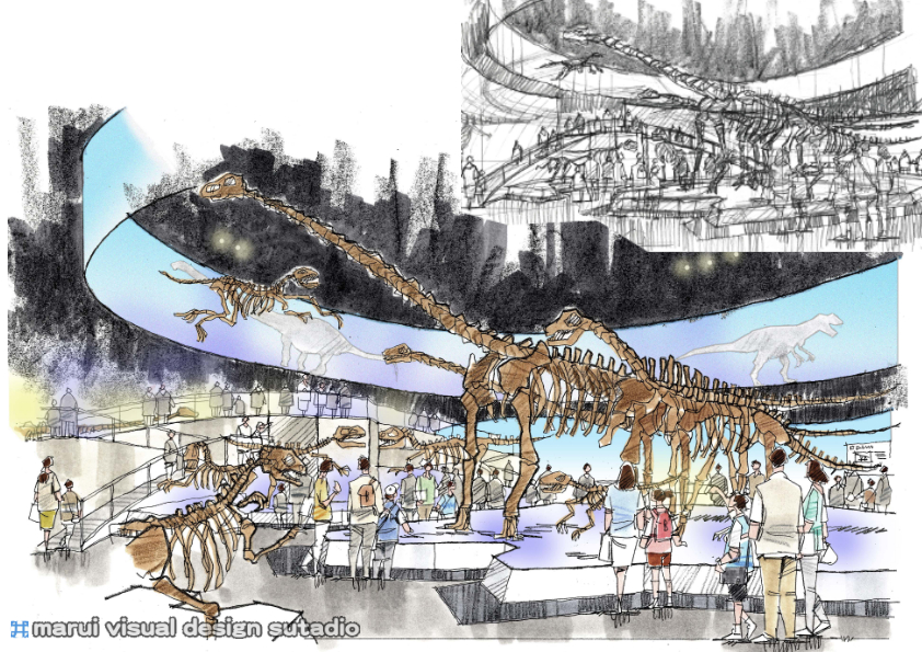 2012恐竜博・イメージパース4