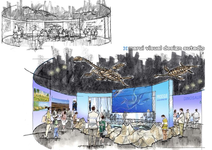 2012恐竜博・イメージパース2