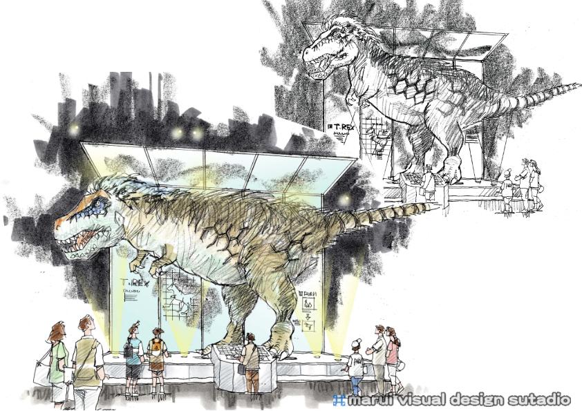 2012恐竜博・イメージパース7