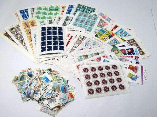 切手 バラ シート含め