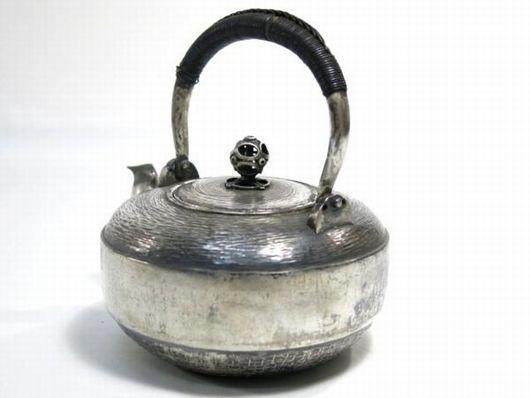 純銀製 鉄瓶 急須
