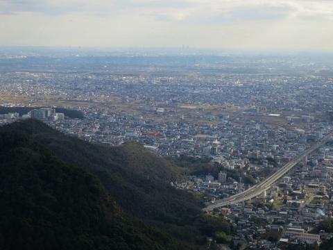 岐阜城は山の上