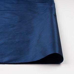 fab-fabric sewing studioポリエステル&アセテート×無地(ロイヤルブルー)×形状記憶シャンブレータフタ