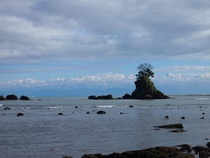 庄川温泉 雨晴海岸
