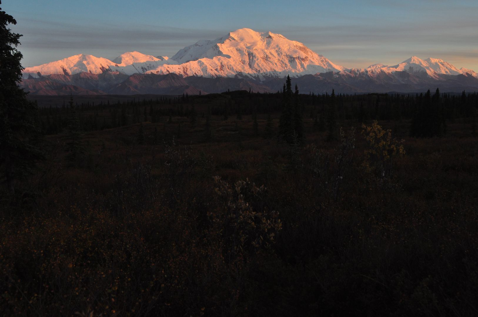 denali at dusk