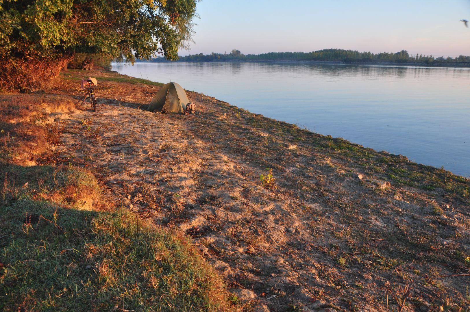 beseide Danube river branch