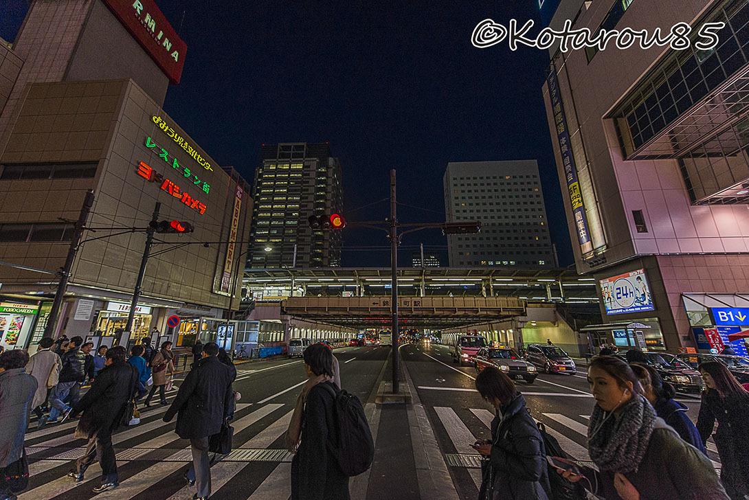 錦糸町 冬の夕暮れ 20161210