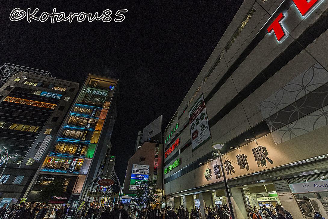 錦糸町 冬の夕暮れ3 20161210