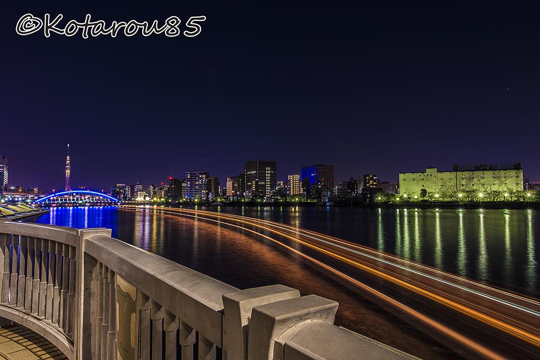 正月の永代橋 20170103